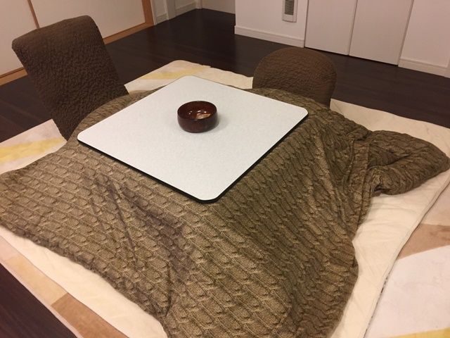 kotatsu: lazy human making machine