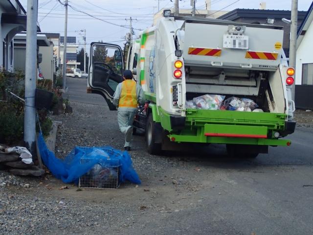 Garbage disposal in Japan