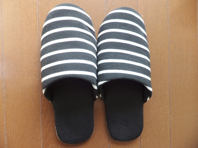 Slippers: Please take off your shoes at home in Japan
