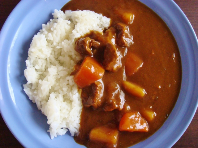 Please try it! Japanese curry is very tasty