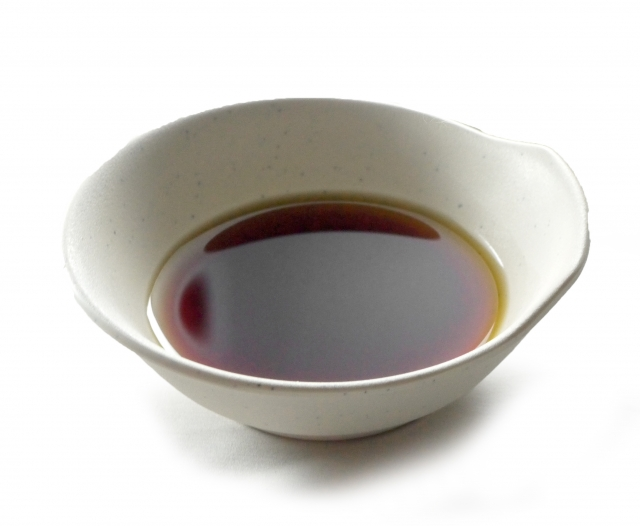 Soy sauce is the most common seasoning in Japan