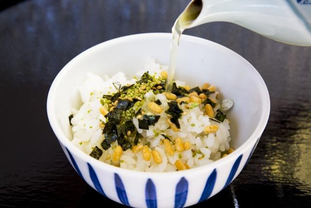 Ochazuke is traditional fast food in Japan