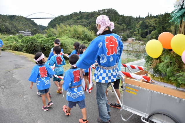 Kodomo-kai: There is a system that increases the experience value of children
