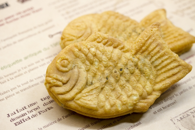 Taiyaki is a Traditional Japanese Ssweet