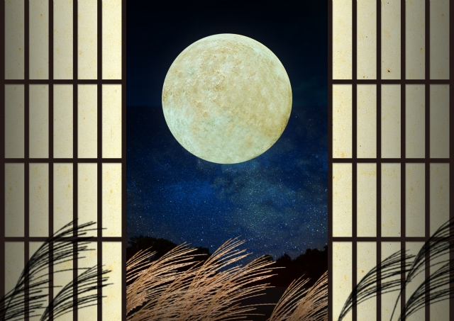 Tsukimi is Events to the moon for celebrate and thank harvest