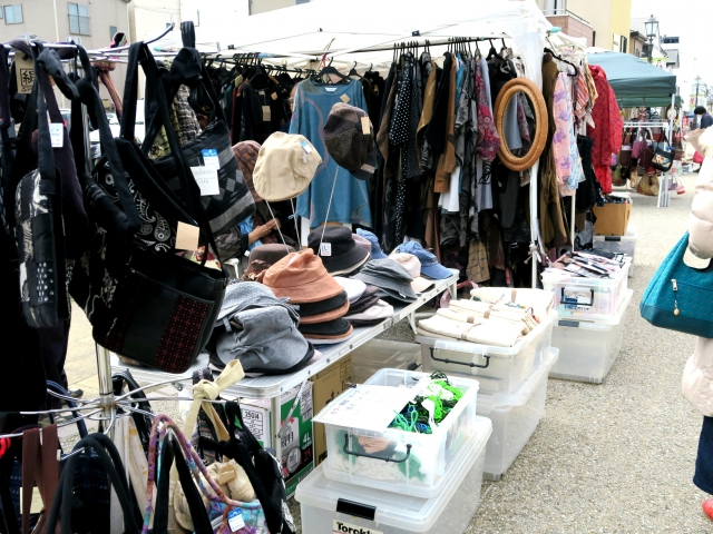 Flea Market in Japan: You might find Treasure