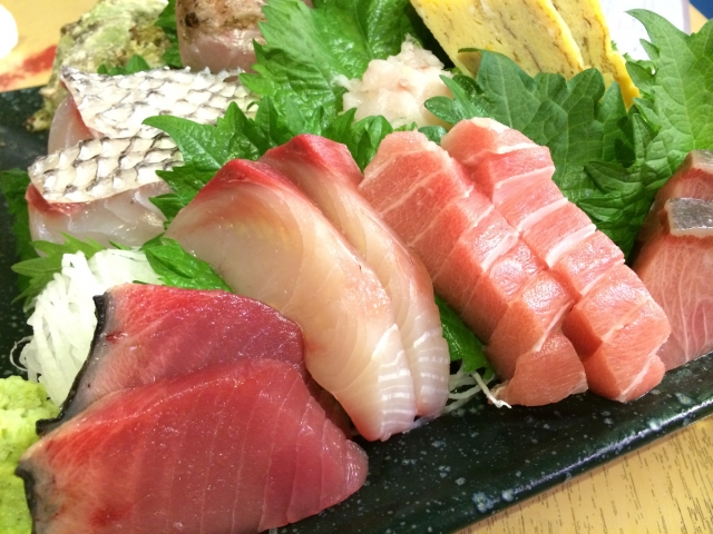 Sashimi is a method of eating fresh fish beautifully and delicious